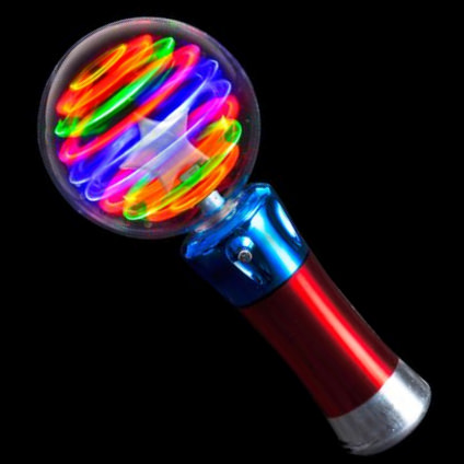Wholesale led magic flashing ball wands bulk pricing www for Led wands wholesale