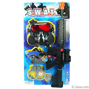 5 Piece S.W.A.T. Playsets