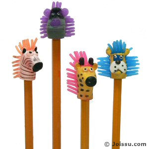 Squishy Animal Pencil Toppers : Joissu- Toys Wholesale Toys in Bulk Flashing Party Supplies Wholesale
