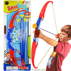 4 Piece Blue Archery Sets