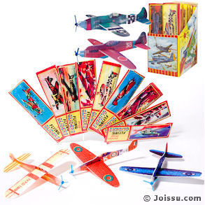 48 Piece World War Ii Glider W/Propeller