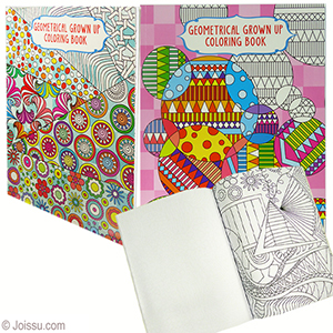 Geometrical Grown Up Coloring Books wholesale bulk pricing ...