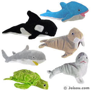Large Plush Sea Life