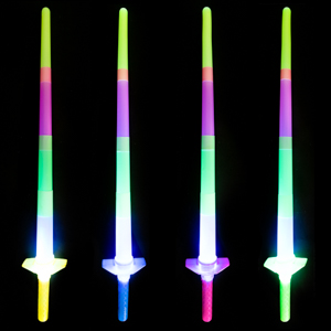 Light Up Retractable Swords