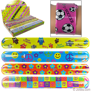 Slap Happy Shimmer Slap Bracelets