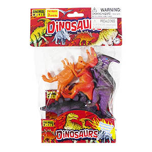 Animal World Dinosaurs - 4 Piece Set