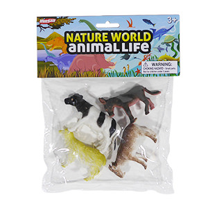 Nature World Farm - 4 Piece Set