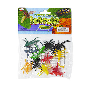 Nature World Mini Insects - 12 Piece Set