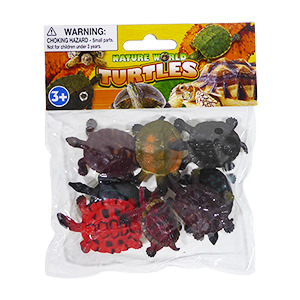 Nature World Mini Turtles - 8 Piece Set
