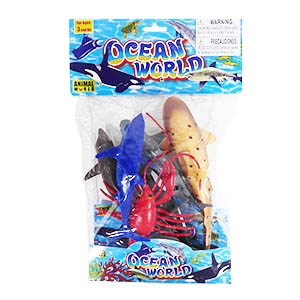 Animal World Ocean - 6 Piece Set