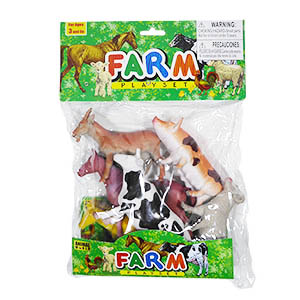 Animal World Farm - 6 Piece Set