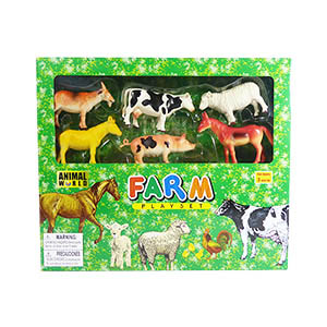 Animal World Farm Play Set - 23 Piece Set