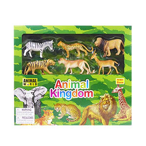 Animal World Safari Play Set - 23 Piece Set