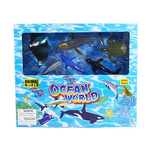 Animal World Ocean Play Set - 23 Piece Set
