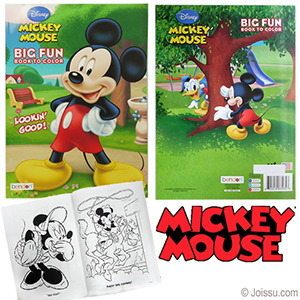wholesale Disney\'s Mickey Mouse Jumbo Coloring Books bulk-www.joissu.com