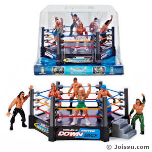 6 Piece Wrestling  Arena Sets