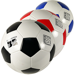 Official Size Soccer Balls Assortment