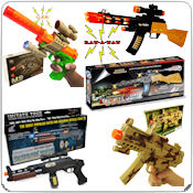 Battery Operated Toy Guns  Wholesale Bulk