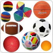 Kick Balls, Juggling Balls & Sports Balls Wholesale