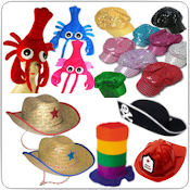 Novelty, Costume Hats Wholesale Bulk