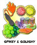 Sticky, Squishy,Spiky, Slippery & Slimy Wholesale, Bulk