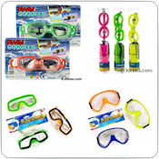 Swim Goggles & Snorkel Sets