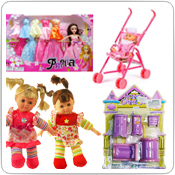 Dolls Toys in Bulk Wholesale