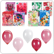 Mother's Day Gift Bags & Balloons
