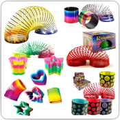 Stretchy Magic Spring Toys Wholesale In Bulk