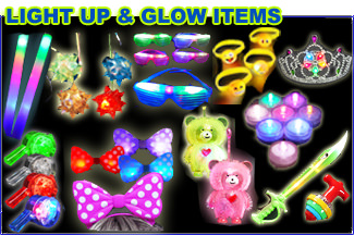 Light Up & Glow Items