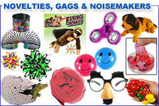 Novelties, Gags & Noisemakers