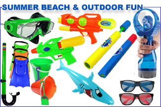 Summer Beach & Outdoor Fun