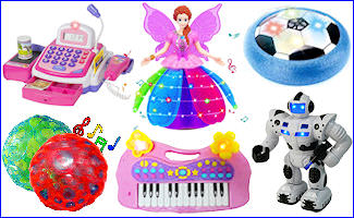Battery Operated Toys & Games