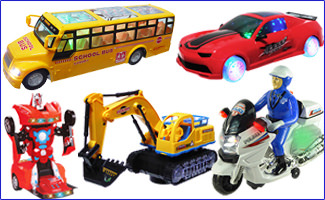 Battery Operated Vehicles
