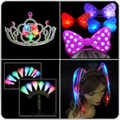 Flashing LED Headband Wholesale Bulk