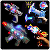 Flashing Space & Ray Guns Wholesale Bulk