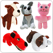 Plush Dogs & Cats
