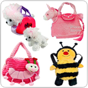 Plush Purses & Backpacks Wholesale Bulk