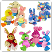 Bunnies, Spring & Easter Plush