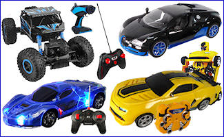 Battery Operated Remote Control Vehicles